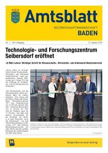 Amtsblatt BH Baden