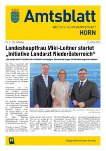 Amtsblatt BH Horn